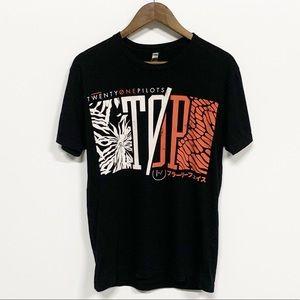 Twenty One Pilots Official Black Concert Tour Tee